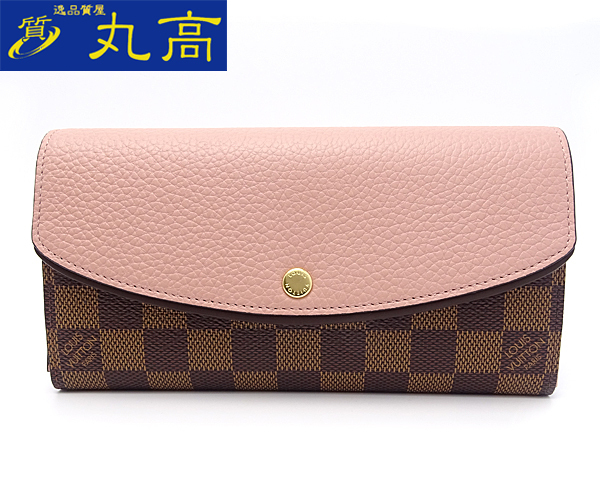 lvwalletmonogrampinkbrown